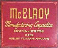 McElroy Sign