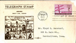 First Day of Issue Centenary of the Telegraph Envelope and Stamp